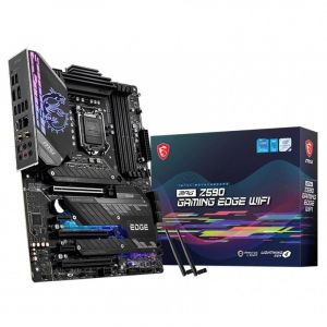 Intel Core i9 11900K 8-Core LGA 1200 3.5GHz Unlocked CPU Processor (OEM Version) + MSI MPG Z590 GAMING EDGE WIFI LGA 1200 ATX Motherboard bundle
