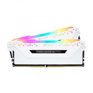 Corsair Vengeance RGB PRO 16GB (2x 8GB) DDR4 3200MHz Memory - White